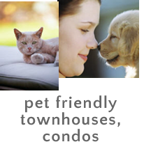 Pet Friendly Townhomes, Townhouses and Condos in Morris County, New Jersey Real Estate New Jersey House & Homes For Sale Pet Friendly Townhouses/Condos in Morris County, NJ Allows Pets